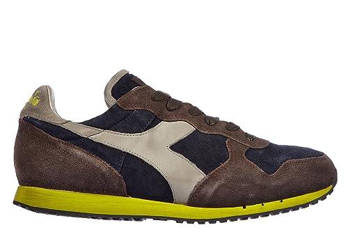 Diadora Heritage Scarpe Sneakers Uomo camoscio Nuove Trident