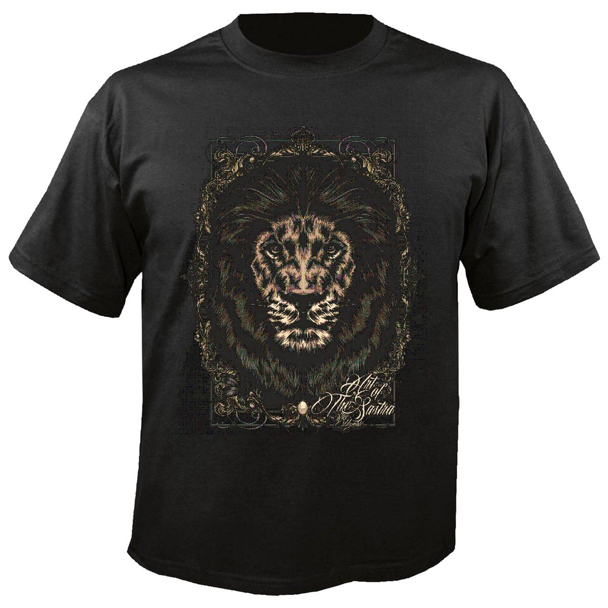 T-Shirt Camiseta Remera Gothic Tatuaje Lion King Lion Salvaje ...