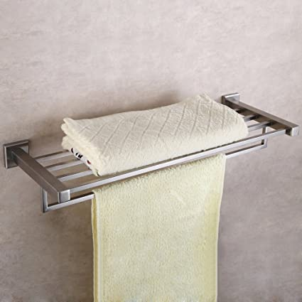 Fortune Stainless Steel Towel Rack (24 inch) Pack of (1)