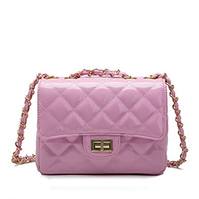 ad21c89db6fa KEBINAI Women Bags Handbags Tote Crossbody Over Shoulder Sling Summer  Leather Quilted Chain Lock Small Flap