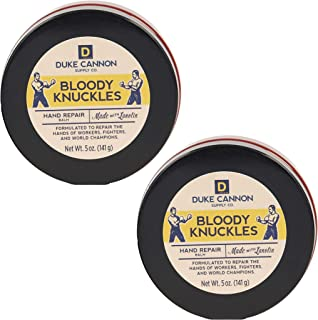 product image for Duke Cannon Supply Co. - Bloody Knuckles Hand Repair Balm, Unscented (2 pack of 5 oz) Superior Grade Hand Protection and Repair Cream for Hard Working Hands