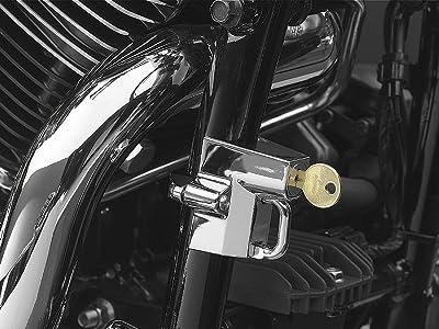 Kuryakyn Universal Helmet Lock Street Racing Motorcycle Helmet Accessories
