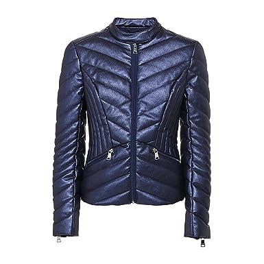 cd01dc0e34 Guess Blouson Femme Matelassé Felicia Bleu: Amazon.fr: Vêtements et ...
