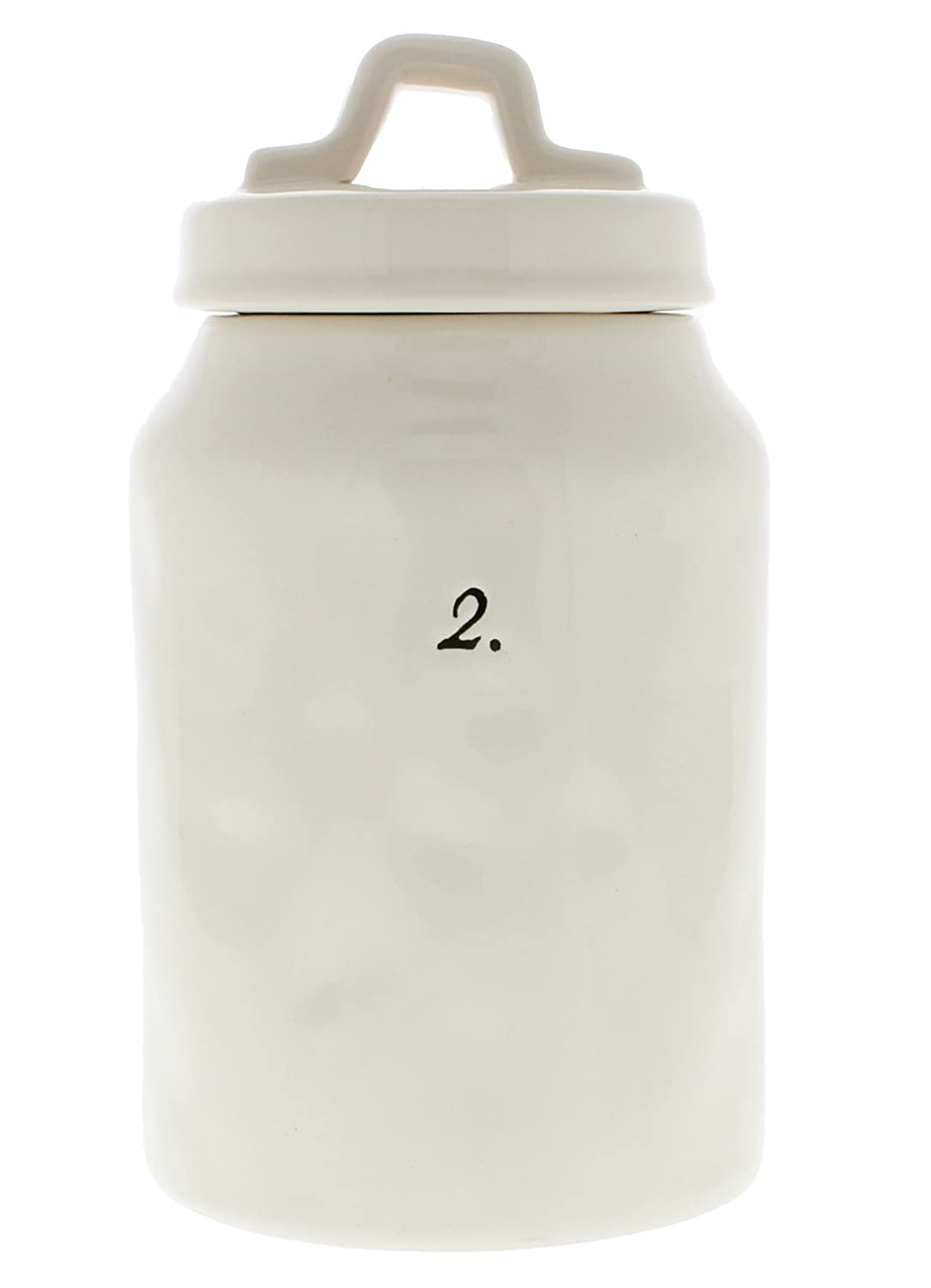 Rae Dunn Magenta Numbered 2. Canister