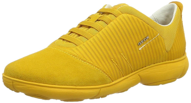 Geox D Nebula G, Zapatillas para Mujer 40 EU|Amarillo (Dk Yellowc2006)