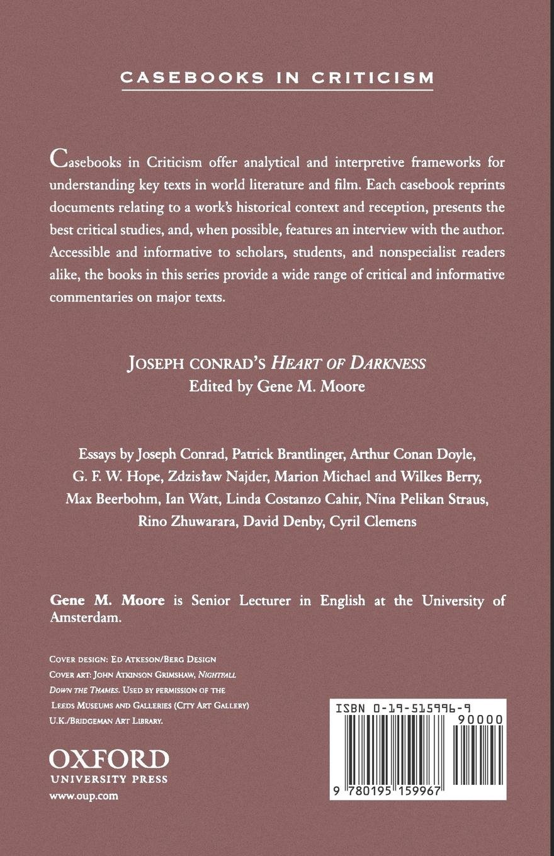 Heart of darkness essay
