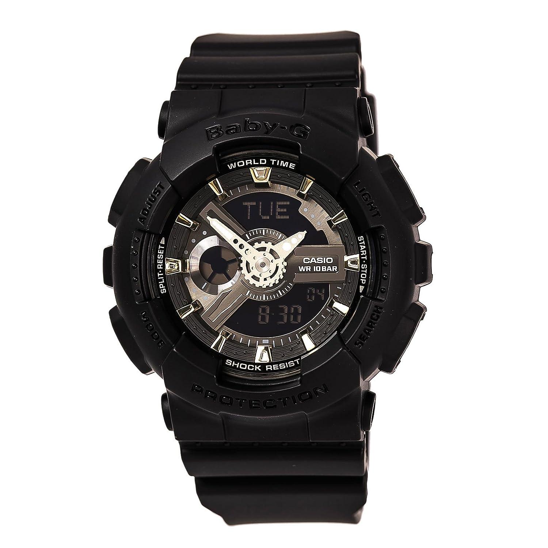 Casio 2018 BA-110GA-1ACR Watch Baby-G Accent Black