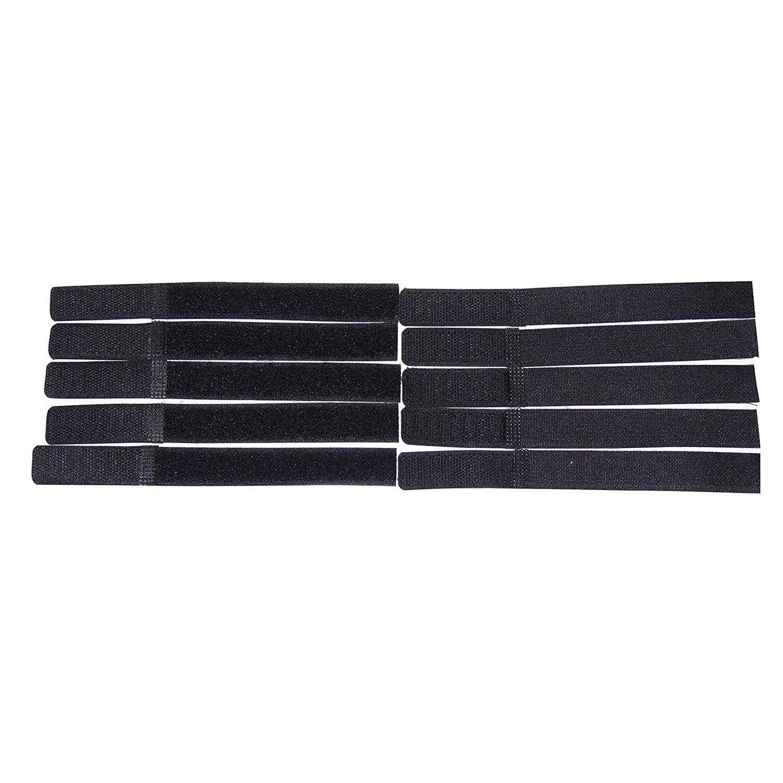 Ogquaton Organisateur de Fil de Lien de Cravate de c/âble de Fixation r/éutilisable Durable pour la Tablette PC de Bureau /à Domicile