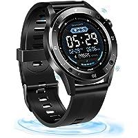 Fitness Tracker, SZMDLX Smartwatch Touch Activity Tracker Smart Bracelet, GPS Remote Control Camera Weather Forecast…