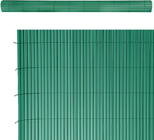 Lola Home Lola Derek Cañizo Artificial de ocultación para jardín, Verde, 500x150x20 cm: Amazon.es: Jardín