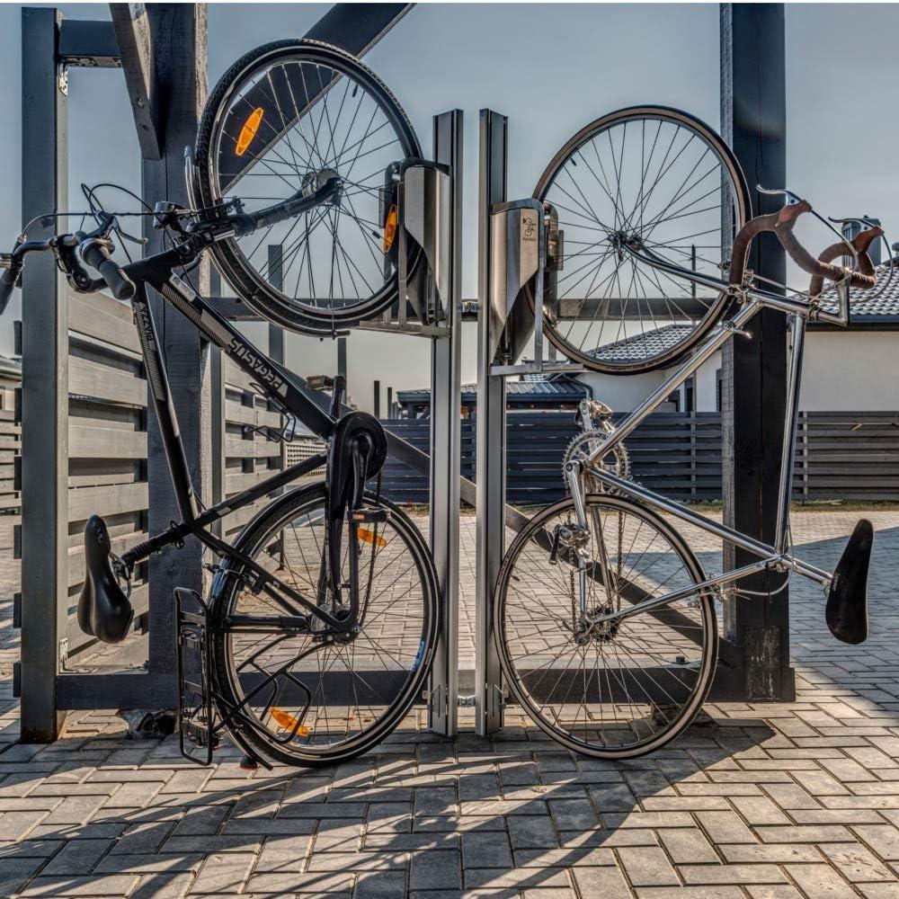 Parkis bicicleta soporte Lift automáticamente hasta 40% de espacio ersparend bicicleta estacionas, color Extension Bracket, tamaño 172cm x 30cm x 18cm, 15.43, 11.81 x 7.09 x 67.72inches: Amazon.es: Deportes y aire libre