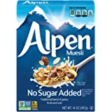 Alpen No Sugar Added Muesli, Swiss Style Muesli Cereal, Whole Grain, Non-GMO Project Verified, Heart Healthy, Kosher…