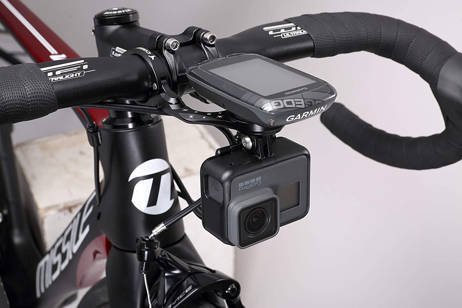 Garmin Bike Mount, Best Tek Garmin Gopro Combo Mount, Manillar ...
