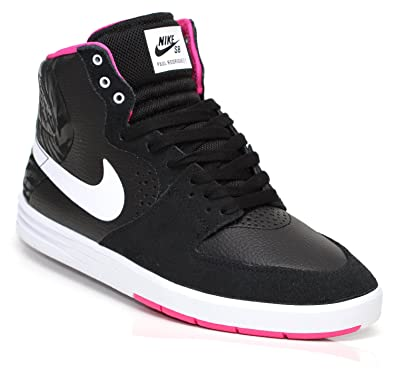 buy online f05c2 47fe7 NIKE Mens Skateboarding Shoes Size 8.5 M 616355016 Rodriguez 7 High Pink  Leather