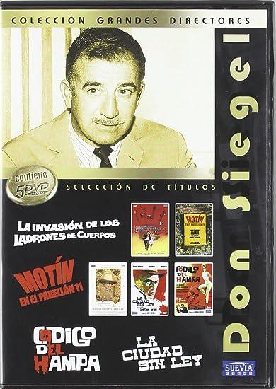 Pack Don Siegel (5 DVD): Amazon.es: Angie Dickinson, Carolyn ...