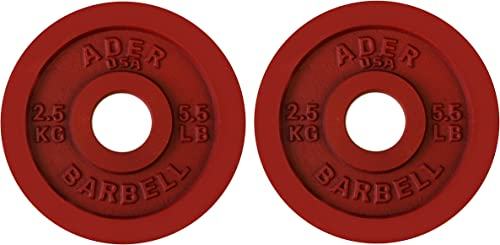 Ader Precision Color Metal Olympic Kilo Gram Plates