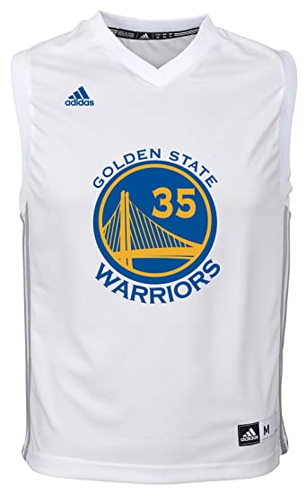 51c1002d2f1 Kevin Durant Golden State Warriors  35 Name   Number Fashion Jersey (White