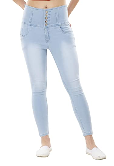 Buy YouBella Women's Slim Fit Jeans at Amazon.in