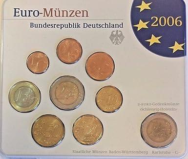 De 2006 2006 G Germany Official Euro Coin Set Special Edi Good At