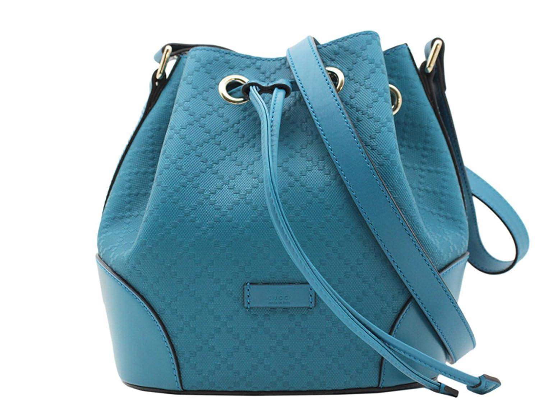 Amazon.com: Gucci - Bright Diamante Leather Bucket Bag Handbag ...