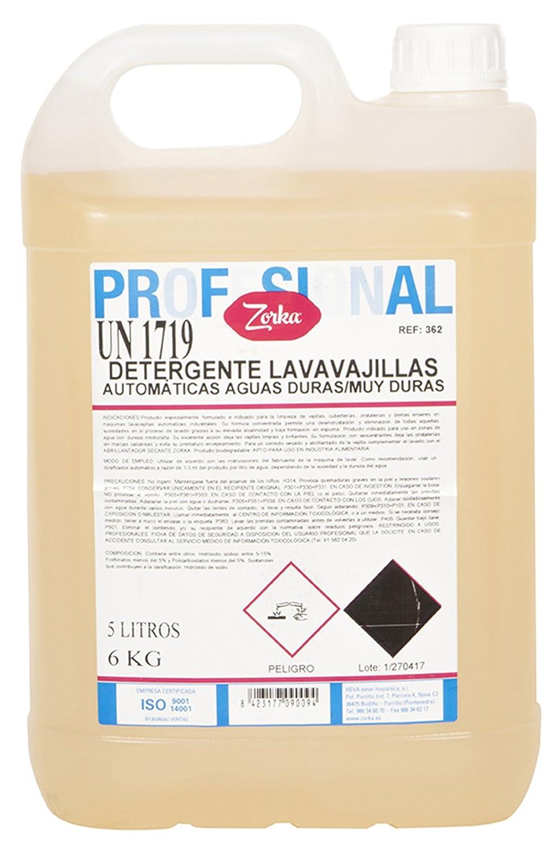 Zorka Detergente de Lavavajillas Automáticas - 6000 gr: Amazon.es ...