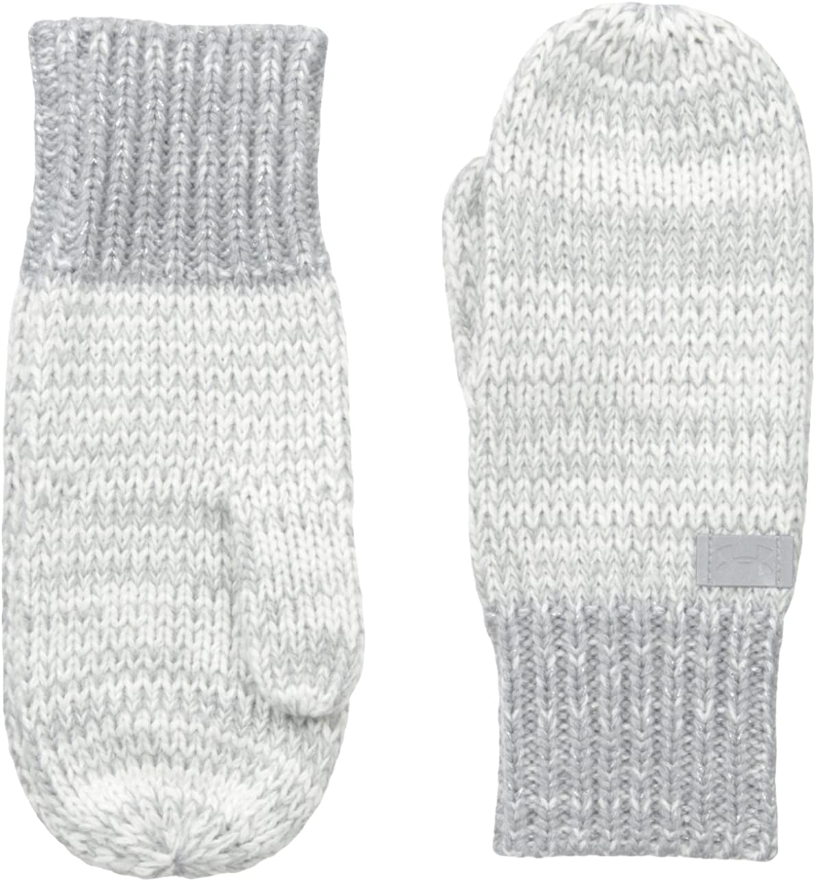 Under Armour Girls Shimmer Knit Mittens