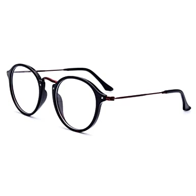 be49efce77 HEPIDEM Acetate Women Round Myopia Optical Glasses Frame Eyewear Spectacles  2036 (red leopard