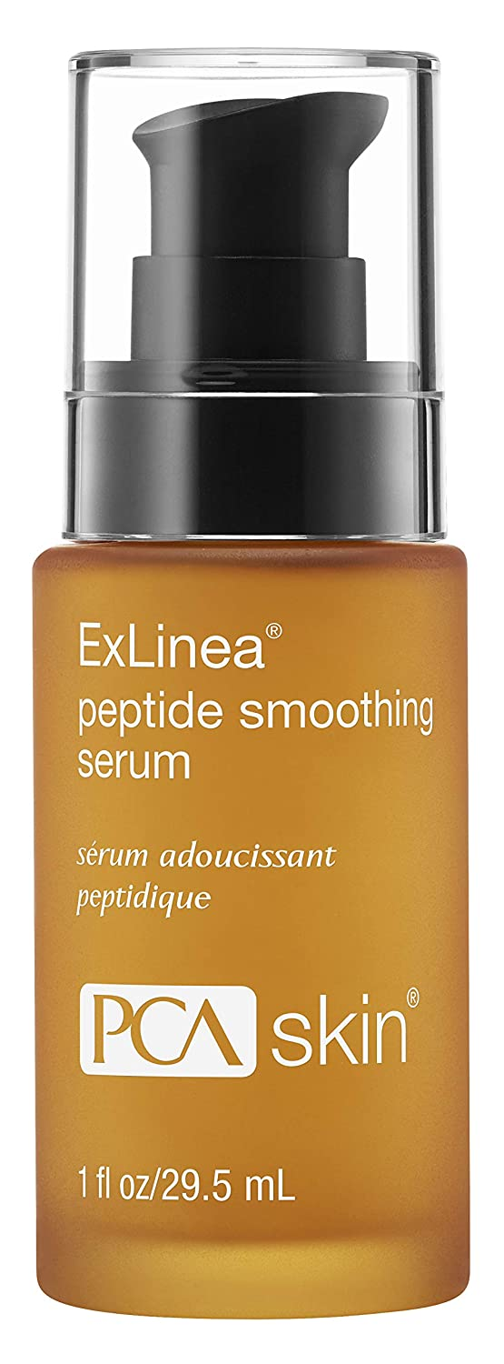PCA SKIN ExLinea Peptide Smoothing Serum, Targeted Neuropeptide Spot Treatment to Firm Aging Skin, 1 Fl Oz