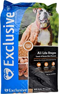 Exclusive | Dog Food for All Life Stages | Lamb and Brown Rice Recipe | Nutritionally Complete - 30 Pound (30 lb.) Bag