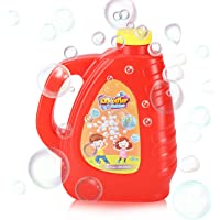 Kidoodler Bubble Solution 32 oz (Can Make 2.5 Gallon), Non-Toxic Bubble Solution Refill, Concentrated Bubble Solution…