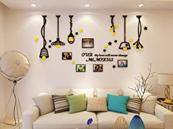 Amazon.com: Adhesivos decorativos para pared con diseño de ...
