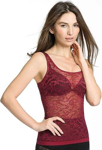 Triumph - Camiseta Interior con Bordados para Mujer, Talla 36/38, Color Rojo 071: Amazon.es: Ropa y accesorios