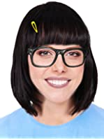 Burger Heiress Costume Set With Wig, Costume Glasses and Yellow Hair Clip