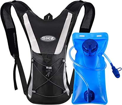 Hiking Camping Cycling Backpack 2L Hydration Pack Water Bladder Camelbak Bag Hot