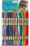 DMC PRISM-TIE Prism Cotton 6 Strand Floss Craft Thread, Tie Dye, 24/Pack