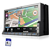 XTRONS® Double 2 DIN 7 Inch 1080P Video HD Digital Motorized Touch Screen Car Stereo Radio DVD Player IPOD GPS Navigation Bluetooth