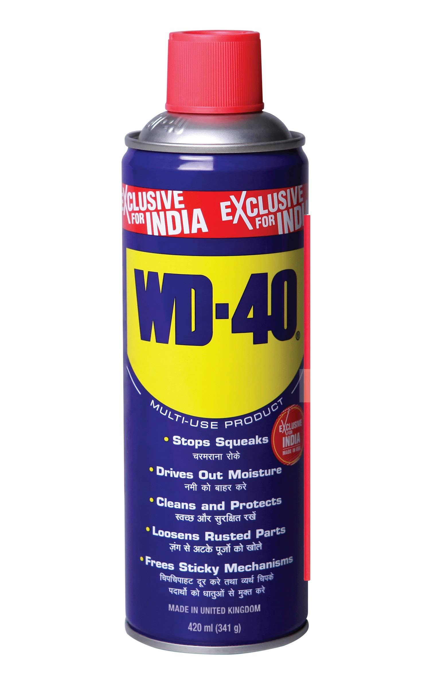Pidilite WD-40 Multiple Maintenance Spray - 420ml (341g) product image