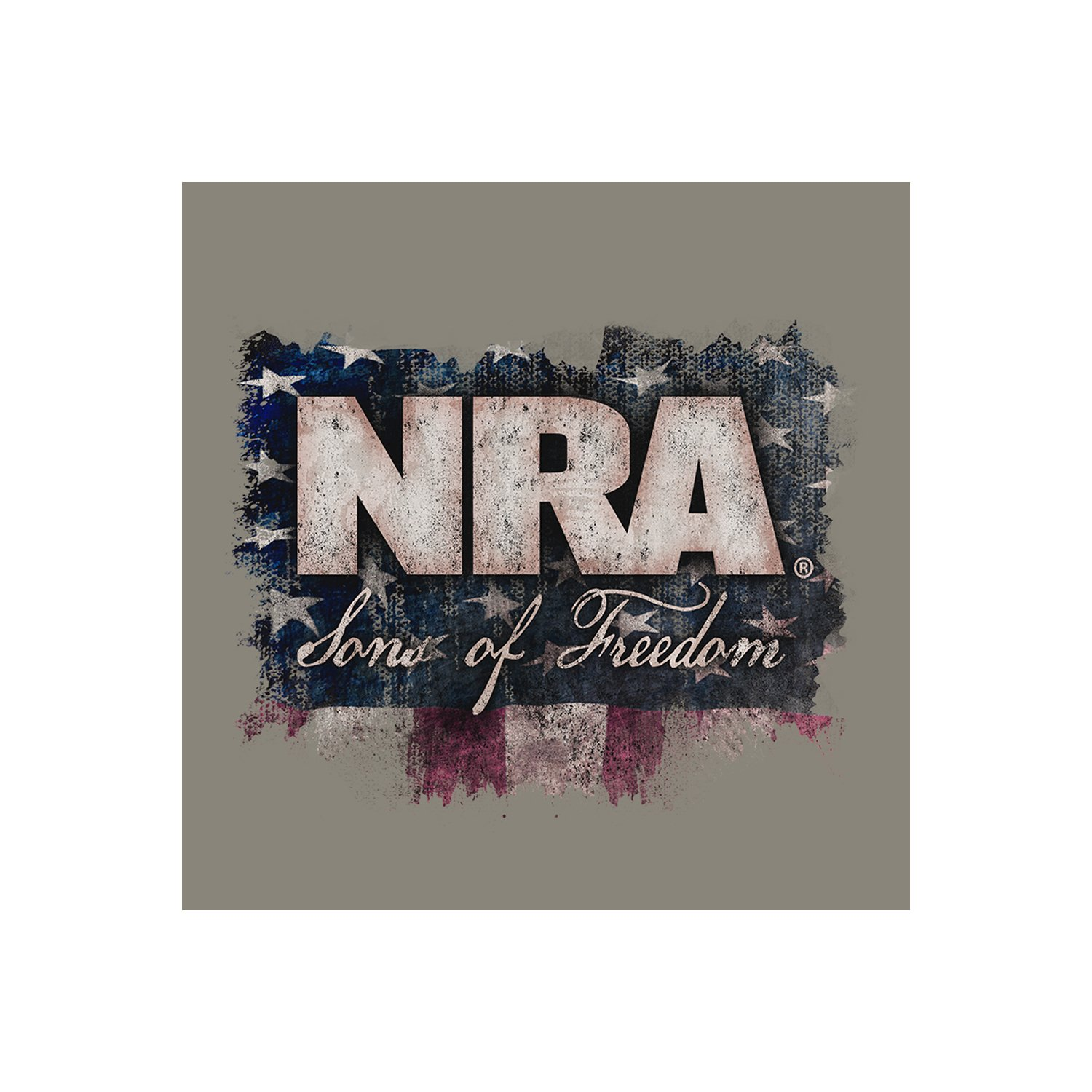 a1694586 NRA National Rifle Association Longsleeve Sons of Freedom T-Shirt + Coolie ( S-3XL) | Amazon.com