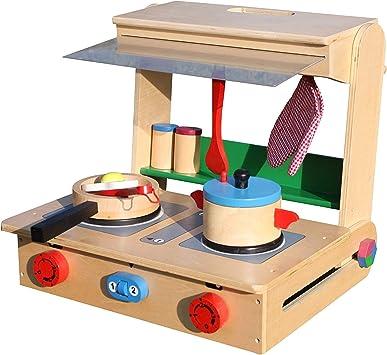 Legler Infantil Cocinita Madera Cocina en Caja Profesional: Amazon.es: Juguetes y juegos