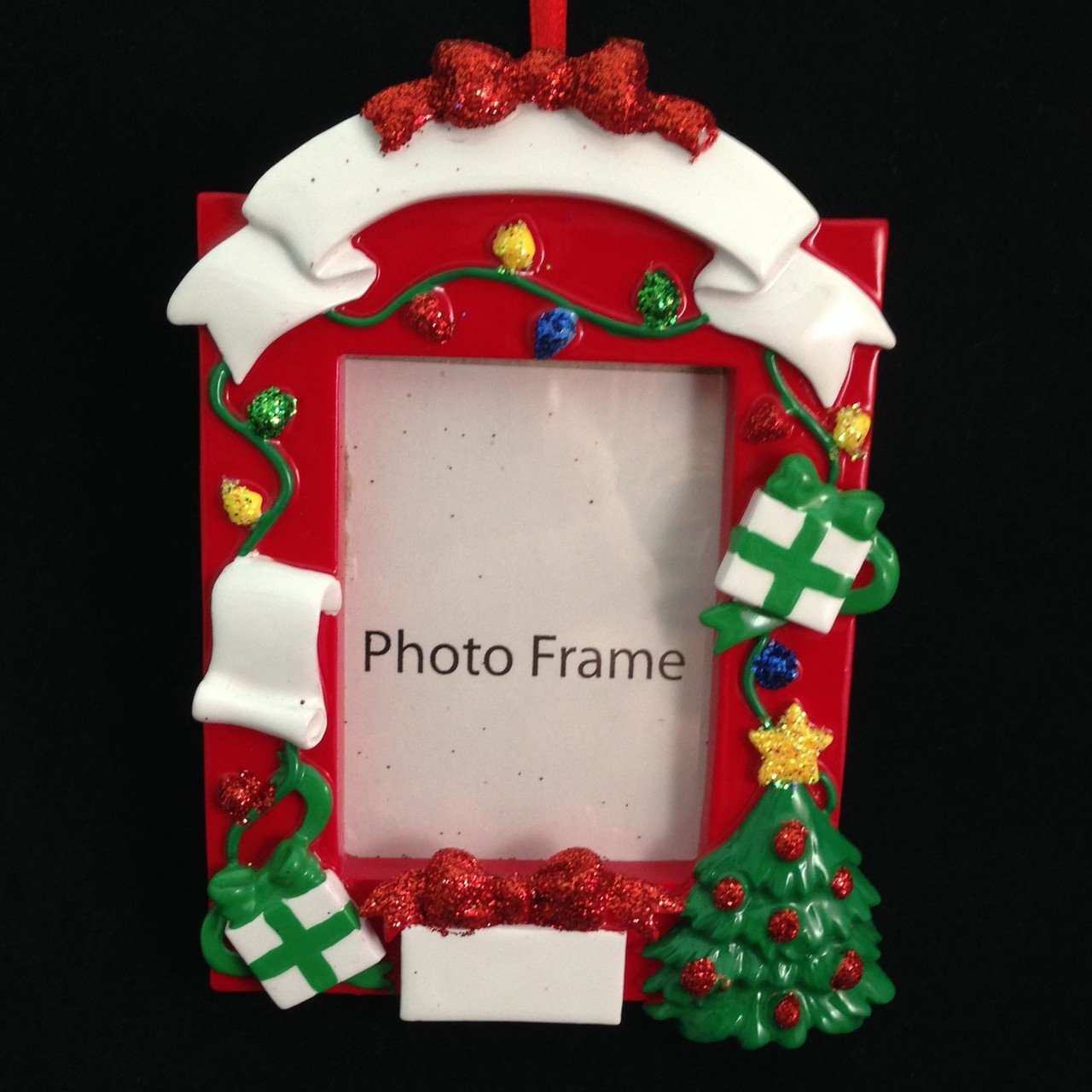 decorated christmas picture frame ornament - Amazon Christmas Ornaments