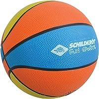 Schildkröt Funsports 2287986 Mini Ballon de Basket Mixte Enfant, Orange/Bleu/Jaune, Taille 2