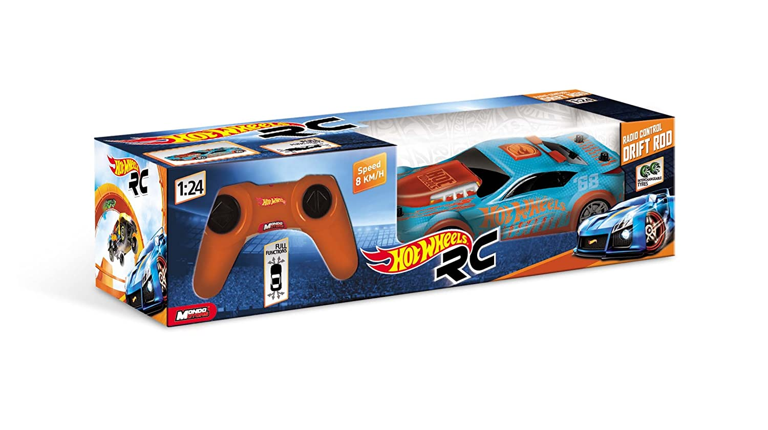 Hot Wheels Scale Drift Rod Radio Controlled Car Amazon Co Uk