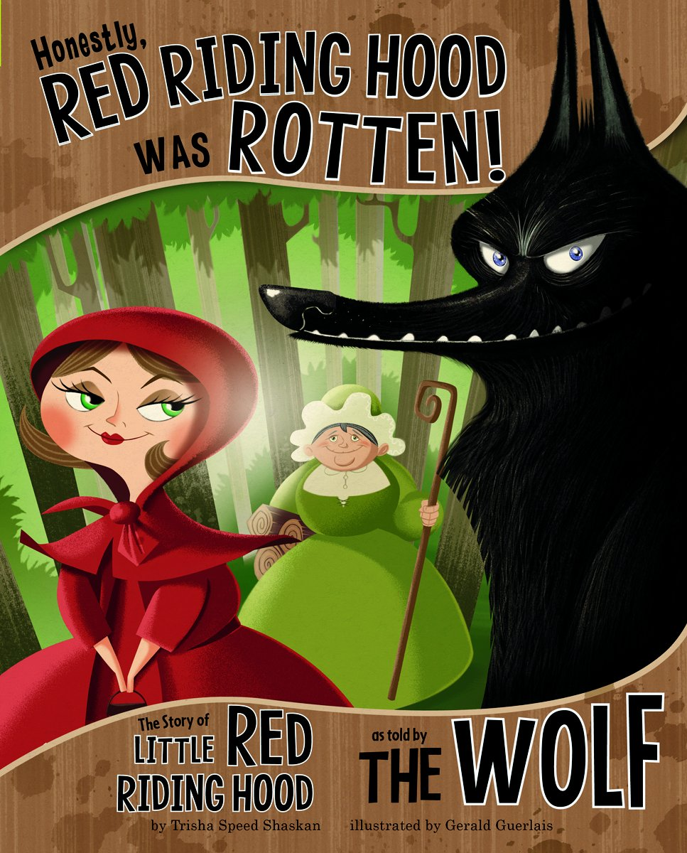 Image result for seriously red riding hood was rotten
