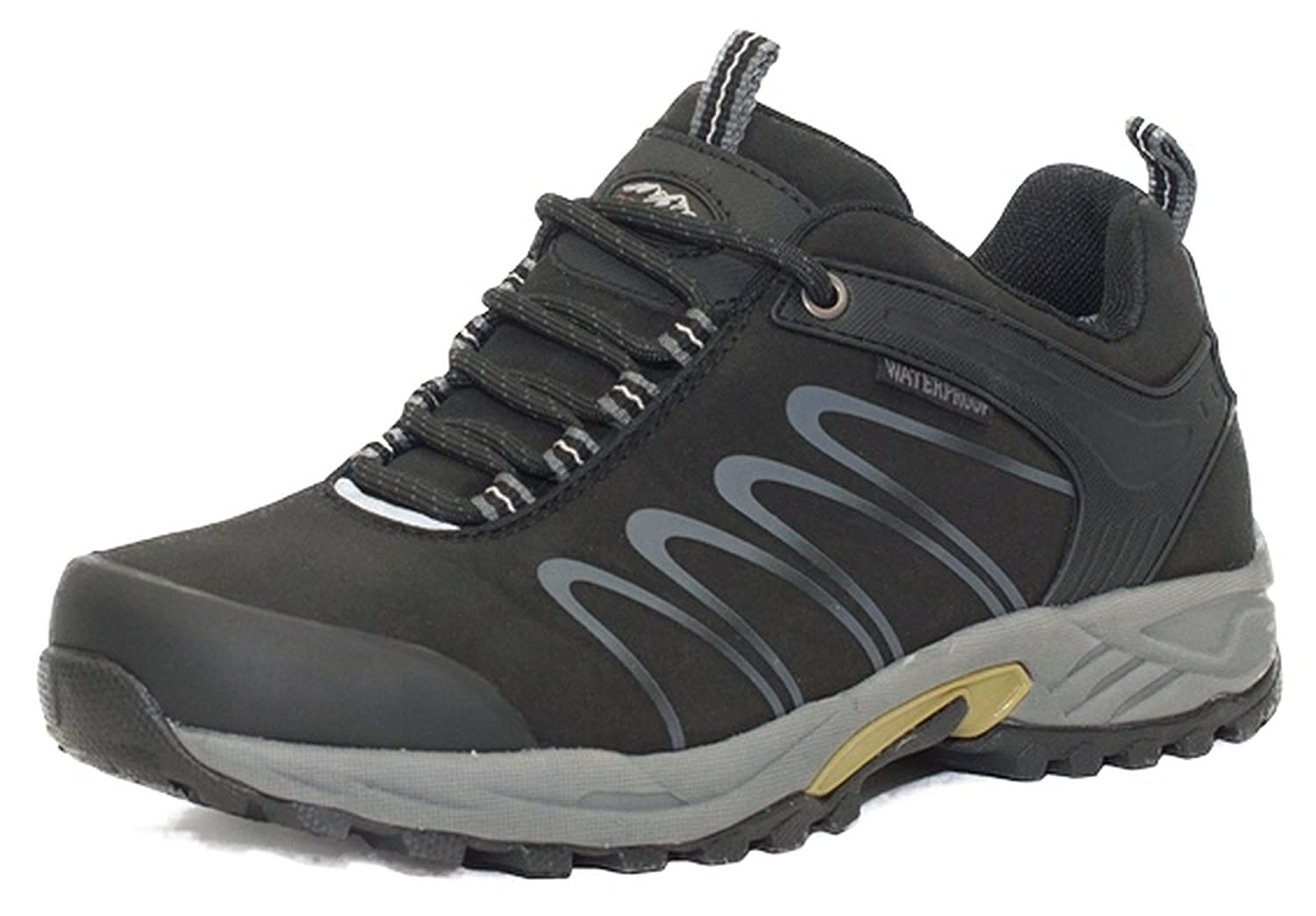 ALPINECROWN Trekkingschuhe Wanderschuhe Model Men Cross Trail, Schwarz, EU 45
