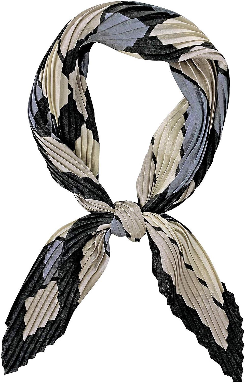 Femmes Vintage floral bandana tête carrée foulard wrap Satin Châle soie FA