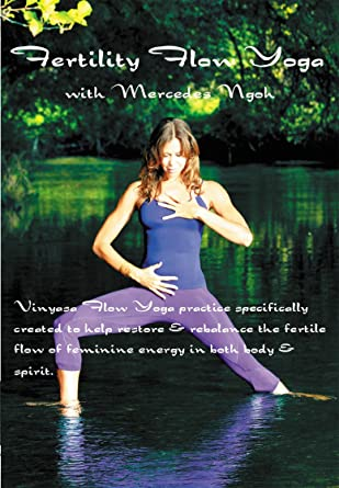 Fertility Flow Yoga With Mercedes Ngoh Amazon Co Uk Mercedes Ngoh