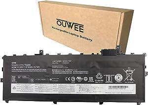 OUWEE 01AV430 Laptop Battery Compatible with Lenovo ThinkPad X1 Carbon 5th Gen/X1 Carbon 6th Gen Series Notebook SB10K97587 01AV431 SB10K97588 01AV494 01AV429 SB10K97586 11.52V 57Wh 4950mAh