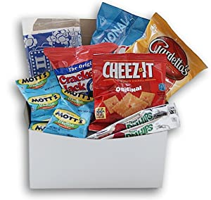 You're The Best! Message Care Package (10 Count) Snacks Gift For College Students, Military, Or Any Loved One!