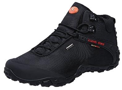 42f6ab50539 XIANG GUAN Women's Outdoor High-Top Oxford Water Resistant Trekking Hiking  Boots