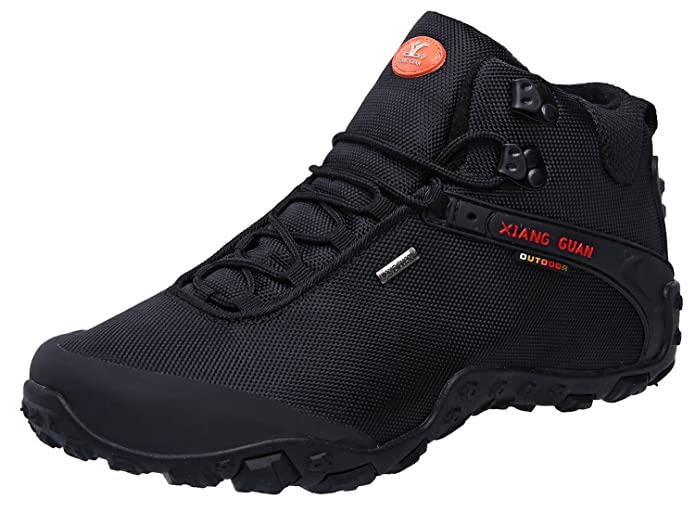 Outdoor High-Top Oxford Water Resistant Trekking Hiking Boots best lightweight hiking shoes